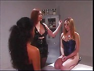 2 Sexy Lesbians Being Teased By Their Smoking Hot Mistress