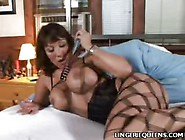 Top Heavy Asian In Stockings
