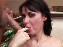 Spicy Beauty Eva Karera Spunked In This Steamy Bukkake
