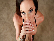 Busty Kendra Lust Shows Off Her Blowjob Skills