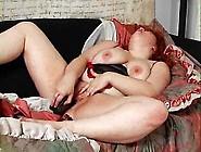 Bbw Redhead Plays