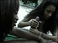 Kenya And Dee Can't Wait To Share A Hung Black Dude's Python