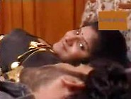 Black Saree Desi Aunty Hot Scenes With Friend