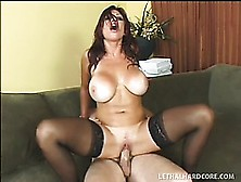 Sex-Starved Lucky Benton Loves Getting Into A Steaming Hot Fuck