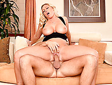 Busty Mommy Loves Riding Dick