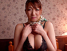 After A Titjob This Japanese Milf Takes A Big Cumshot