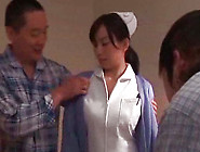 Lusty Pussy Toying For Japanese Nurse's Hairy Poon Tang