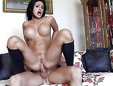 Aletta Ocean Riding Cock With Her Ass