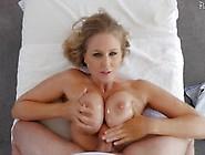 Cute Blonde Milf Pussy Crammed Balls Deep In Her Clit Slit