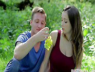Lucie Wilde Fucked Outdoors