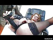 Busty Milf Rio Mariah Gets Her Butthole Screwed With Dave Hardma