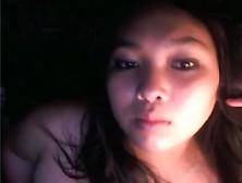 Cute Chubby Asian Sucks Her Boyfriend On Webcam By Facebookcams
