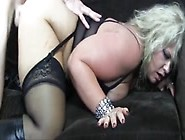Fat Mature Blonde Does Anal