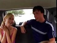 Blonde Gets Fucked By A Nerd In The Van