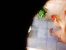 Hidden Cam In Toilet,  Filmed A Hot Ass Bitch