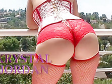 Amazing Pornstar Krystal Jordan In Incredible Interracial,  Big B
