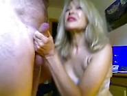 Jolie Mature Blonde Suce Et Se Fait Prendre