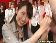Shy Asian Hottie Touching Guys Dick