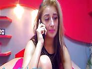 Hot Teen Iceland Skype Socks On Webcam