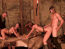 Eufrat Mai And Anita Gets Pussies Nailed Hardcore In Fuck Fourso