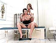 Laura Orsolya And Katarina Suck Each Other's Big Tits Like Mad