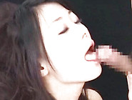 Handsome Japanese Cutie Is Banging Her Shaved Slit With Toy