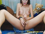 Ultra Hot Shemale Babe In A Horny Teasing Parade