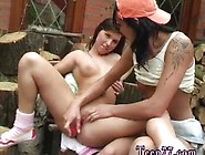 Cute Teen Facial Hd And Lesbian Friends Pool And Strapon Brunett
