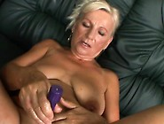 Big Breasted Granny Plays With Sex Toys And Fucks A Hard Pole In