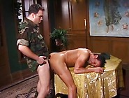New Soldier On Base Gets An Ass Fucking