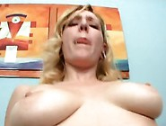 Lucky Blonde Gets A Gigantic Dick All For Herself