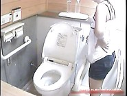 Asian Pretty Girl Beach House Toilet Voyeur Hd 4