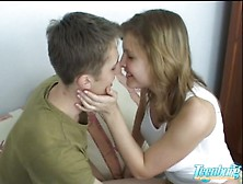 Young Couple Making Love In Every Room