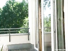 Incredibly Busty Milena Velba Wobbles In Doorframe Video