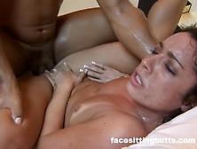 Big Ass Latina Doesn't Care Where He Puts It