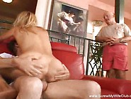 Blonde Greenhorn Mom Id Like To Fuck Swings For Hubby