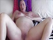 Hot Pregnant Teen Showers And Masturbates