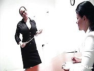 Strict Mistress And Sub Slave Ends With Fisting