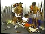 Gay Black Gym Gangbang
