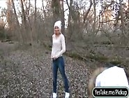 Smoking Czech Girl Kiara Fucked In The Woods For A Chunk Of Mone