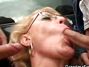 Hot Blonde Granny Gets Nailed By A Stranger 1 - 3