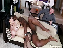 Eva Karera Delights With Anal Riding During Hot Interracial Sex