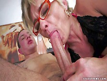 Cock Hungry Mature Short Haired Blonde