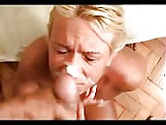 After Hard Banging Session Mature Bitch Took Load On Her Face