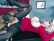 Glamorous Busty Milf Karen Fisher
