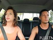 Cute Redhead Teen Sucks Big Veiny Dick And Fucks In Bed