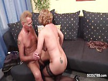 Grandma In Stockings From Sexdatemilf. Com Hard Fucked By Grandpa