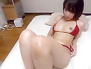 Sexy Japanese Woman Massage Oil