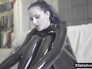 Chastity Belt In Latex Pt 1