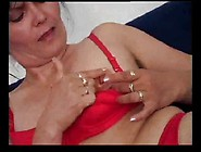 Hairy Milf Surprised By Her Son